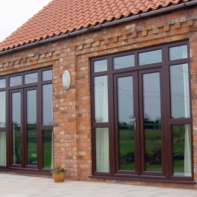 Plastic French Doors Norfolk