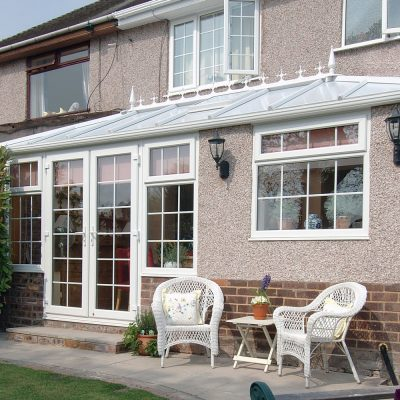 French Doors White UPVC