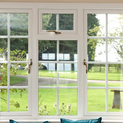 Casement windows UPVC White