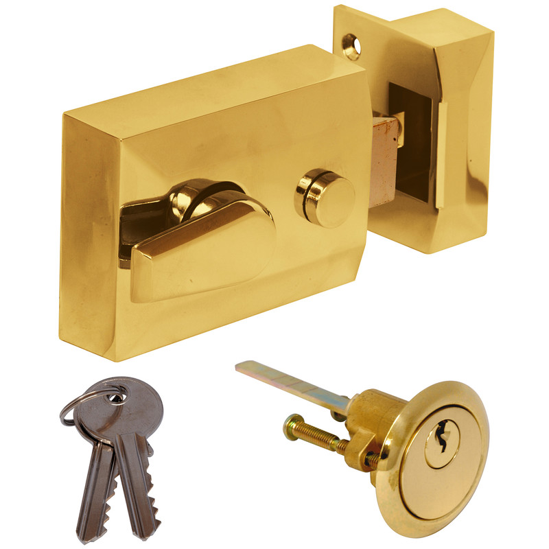 Dead locking night latch
