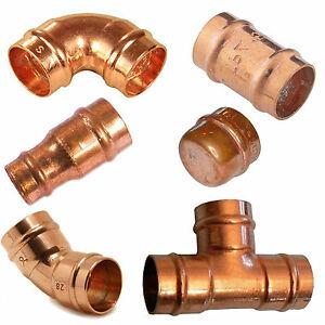 Solder Ring Copper Fittings