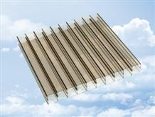 Bronze Twin Wall Polycarbonate Sheets